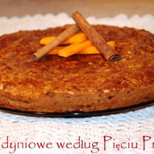 Ciasto dyniowe według Pięciu Przemian