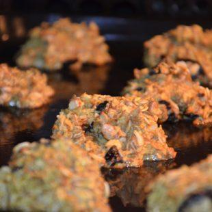 Ciasteczka żytnio-owsiane + wyjazd