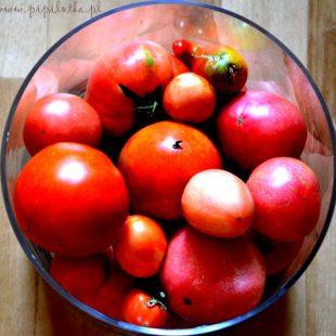 Ketchup/Przecier pomidorowy bez cukru