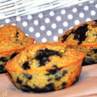 Białkowe muffiny na podwieczorek lub śniadanie