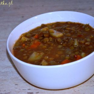 Zupa z soczewicy na chłodne wieczory