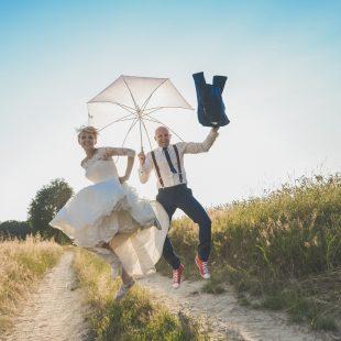 Pomysł na plener ślubny + kilka naszych zdjęć