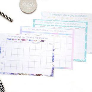 Czerwcowy Kalendarz Treningowy na Dzień Dziecka