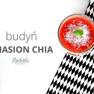 Budyń z nasion chia – idealny letni deser/śniadanie