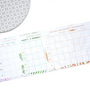 Lipcowy Kalendarz Treningowy Do Druku