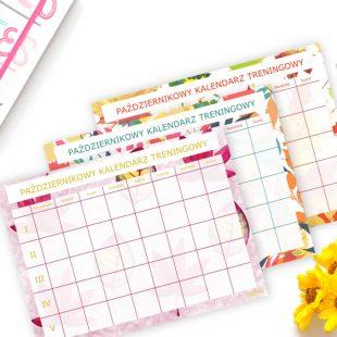 Październikowy Kalendarz Treningowy