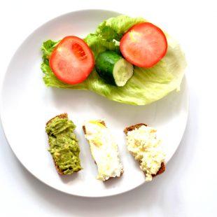 Zdrowe wytrawne śniadania 1 Pasty kanapkowe