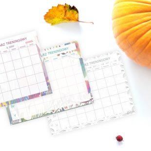 Listopadowy Kalendarz Treningowy