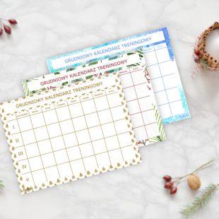 Grudniowy Kalendarz Treningowy