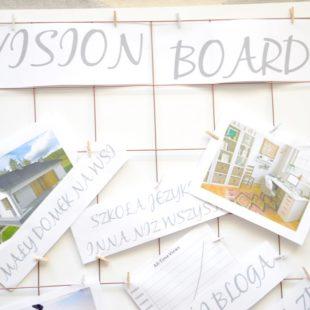 Mapa celów – VISION BOARD