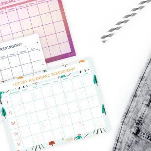 Lutowy Kalendarz Treningowy