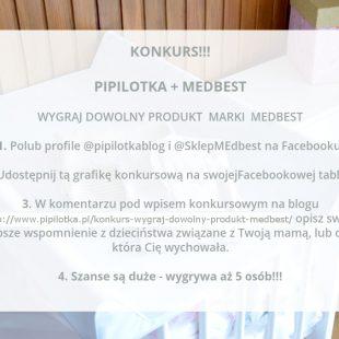 Konkurs! Wygraj wybrany produkt marki Medbest