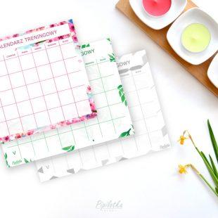 Kwietniowy Kalendarz Treningowy