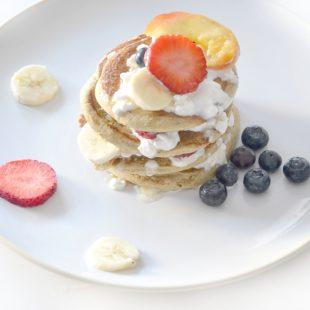 Orkiszowe pancakes