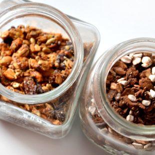 Domowa granola w dwóch wersjach