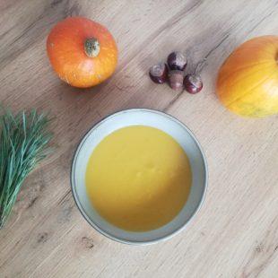Szybka i prosta zupa dyniowa
