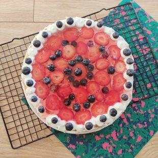 Nieidealny tort dla początkujących